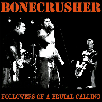 "Bonecrusher ""Followers of a brutal calling"" LP (lim. 400, clear red)"