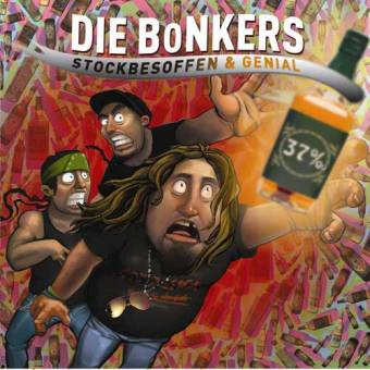 "Bonkers ""Stockbesoffen & Genial"" CD+DVD"