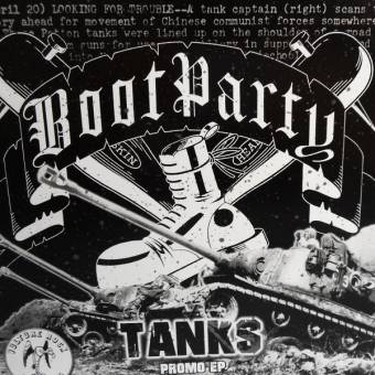 "Boot Party ""Tanks"" EP 7"" (lim. 200, black)"