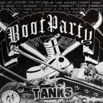 "Boot Party ""Tanks"" EP 7"" (lim. 200, black)"