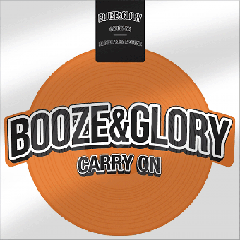 "Booze & Glory ""Carry One"" shape EP 7"" (lim. 500, orange)"