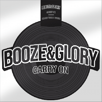 "Booze & Glory ""Carry One"" shape EP 7"" (lim. 500, black)"