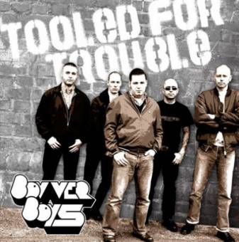 "BOVVER BOYS ""Tooled for trouble"" CD"