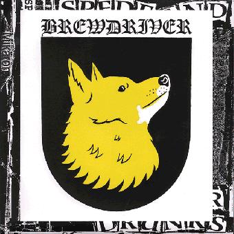 """Brewdriver """"Pystykorva """" EP 7"""" (lim. 300, black)"""