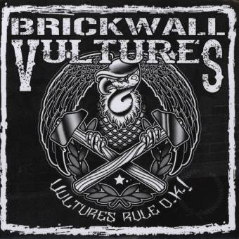 "Brickwall Vultures ""Vultures Rule O.K.!"" EP 7"" (green-brown)"