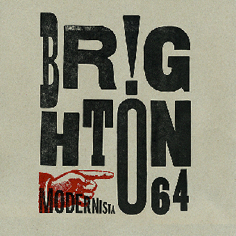"Brighton 64 ""Modernista"" LP (lim. 500, black + MP3)"