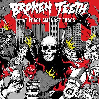 "Broken Teeth ""At peace amongst chaos"" CD"
