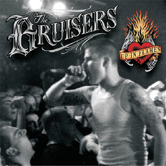 "Bruisers ""Up in flames"" LP (lim. 300, black)"