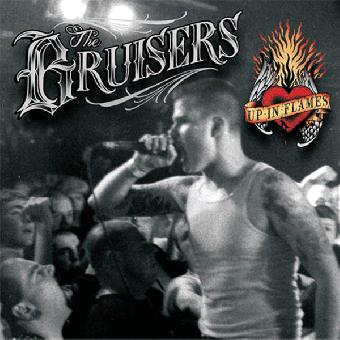 """Bruisers """"Up in flames"""" LP (lim. 300, black)"""