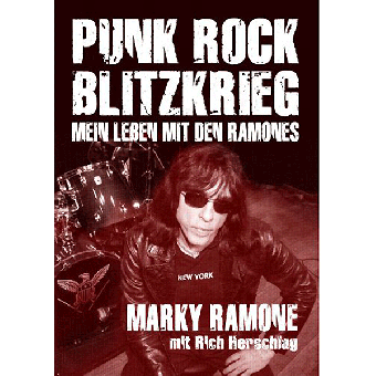 Punk Rock Blitzkrieg - Buch (Marky Ramone)