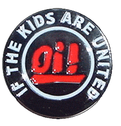 Oi! if the kids are united - Gürtelschnalle / Buckle