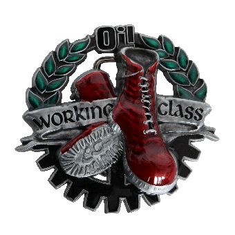 Working Class Boots Buckle