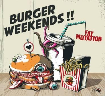 "Burger Weekends ""Fat Mutation"" LP (lim. 200, black)"