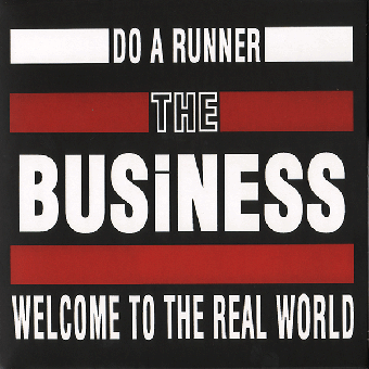 "Business, The ""Do a runner"" EP 7"" (black)"