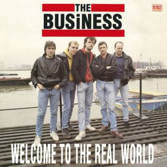 "Business, The ""Welcome to the real world"" LP (lim. 100, red)"