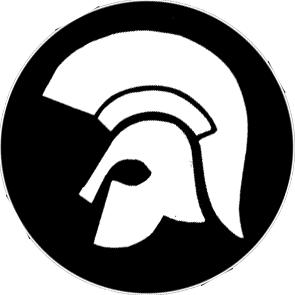 Trojan - Button (2,5 cm) 180 (Neu)