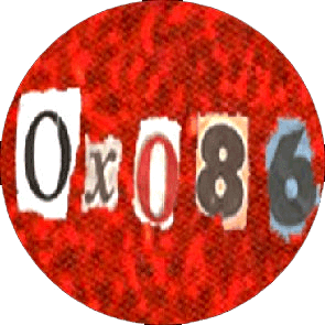 Oxo 86 - Button (2,5 cm) 190 (Neu)