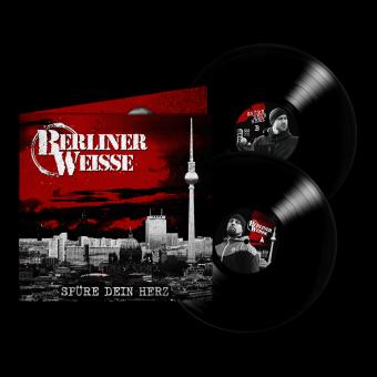 """Berliner Weisse """"Spüre Dein Herz"""" DoLP (Gatefold) (black) (lim. 500)"""