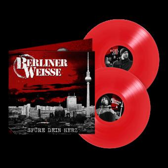 """Berliner Weisse """"Spüre Dein Herz"""" DoLP (Gatefold) (red) (lim. 500)"""