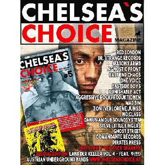 Chelsea`s Choice Magazine #5 - Fanzine (D) (A4, col.) + Flexi Disc