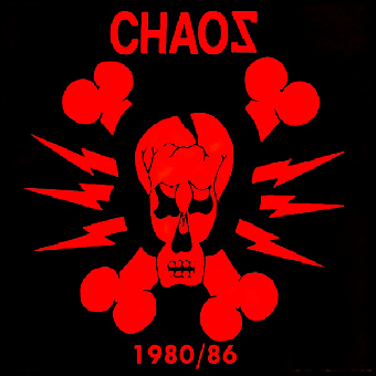 "Chaos ""1980/86"" LP (lim. 200, red)"
