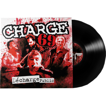 "Charge 69 ""Décharge public"" LP (black Vinyl)"