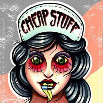 "Cheap Stuff ""Skill Pills"" EP 7"" (lim. 100, green splatter)"