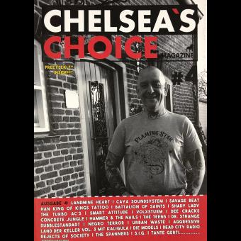 Chelsea`s Choice Magazine #4 - Fanzine (D) (A4, col.) + Flexi Disc