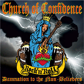 "Church of Confidence ""Damnation to the Non-Believers"" LP+CD"
