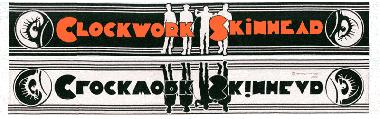 Clockwork Skinhead - Schal