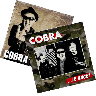 "Cobra Special Deal ""Hello! This is Cobra"" LP/DVD + ""Cobra is back"" DoLP/DVD"