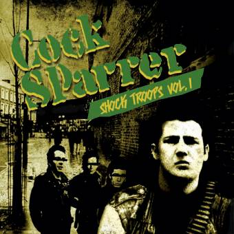 "Cock Sparrer ""Shock Troops"" Vol. I DoEP 7"""