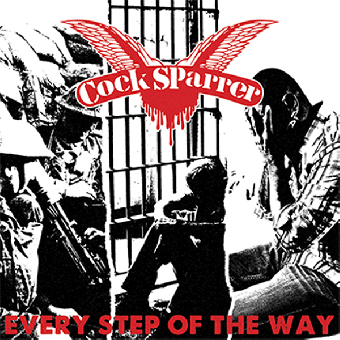 """Cock Sparrer """"Every step of the way"""" 7"""" EP (lim. white) + MP3"""