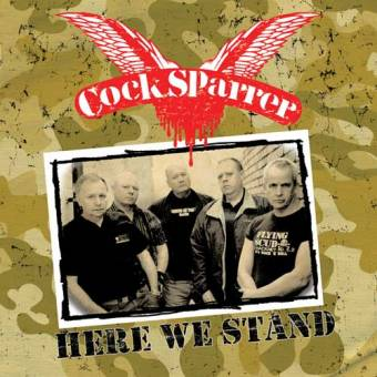 Cock Sparrer - Here we stand LP (col.) + CD/DVD