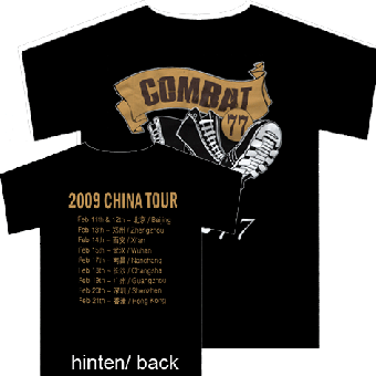 "Combat 77 ""China Tour"" T-Shirt (S)"