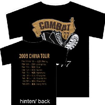 """Combat 77 """"China Tour"""" T-Shirt (S)"""