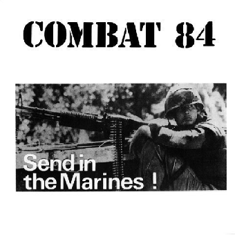 "Combat 84 ""Send in the marines"" LP (lim. 400, red)"