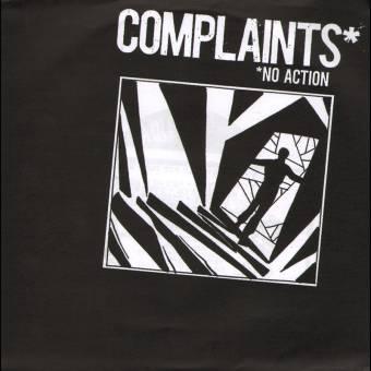 """Complaints """"No Action"""" EP 7"""" (black)"""