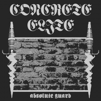 "Concrete Elite ""Absolute Guard"" LP (lim. 350, black/silver swirl - prited B side)"