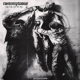 """Contemptuous """"For the lot of you"""" LP (lim. 350, white)"""