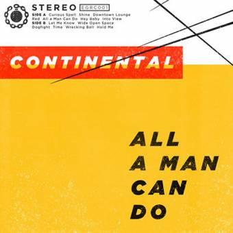 "Continental ""All a man can do"" LP (lim. 400, black)"
