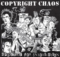 "Copyright Chaos ""Appetite for Intoxication"" CD"