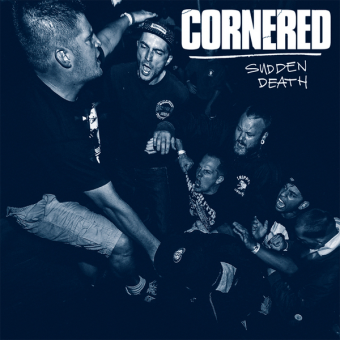 "Cornered ""Sudden Death"" LP (lim. 213, blue + MP3)"