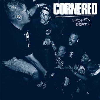 "Cornered ""Sudden Death"" LP (lim. 213, blue + MP3)"