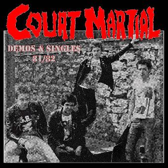 """Court Martial """"Singles & Demos 81/82"""" LP (lim. 100, orange)"""