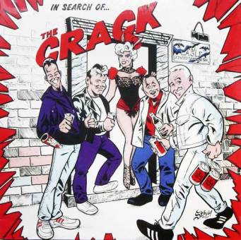 "Crack,The ""In search of... "" LP (lim. 200, splatter)"