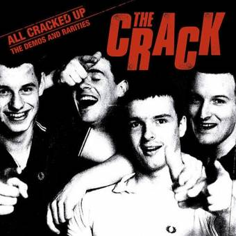 "Crack, The ""All Cracked Up - Demos and Rarities LP+Poster (lim. 250, red)"