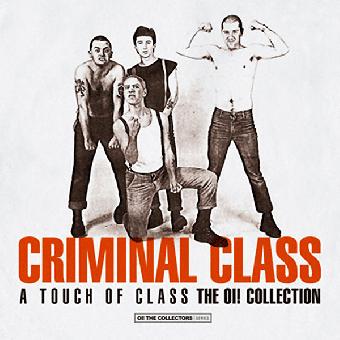 "Criminal Class "" A touch of class"" LP (lim. 325, black) + Fanzine + Stickers"