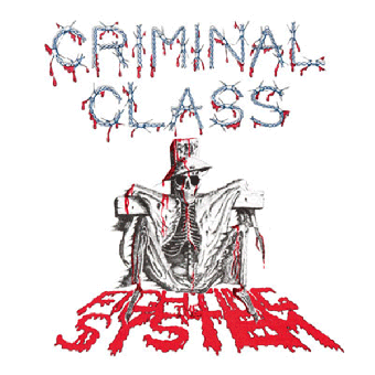 """Criminal Class """"Fighting the System"""" EP 7"""" (lim. 200, black)"""