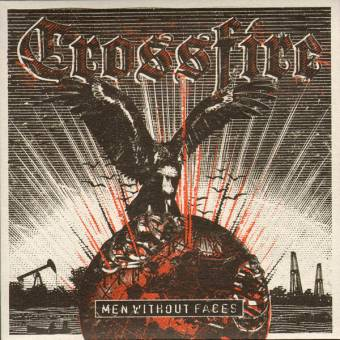 """Crossfire """"Men without faces"""" EP 7"""" (+ download)"""
